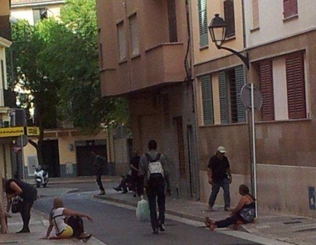 Prostitutas en la Puerta de Sant Antoni (Palma)
