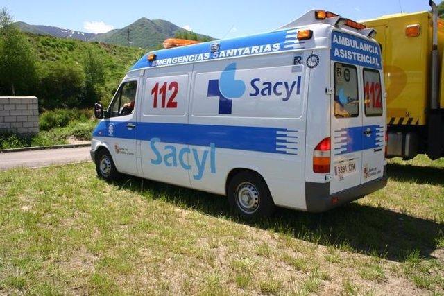 Ambulancia 112 de Sacyl
