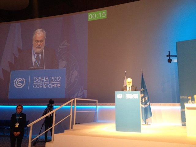 Arias Cañete en la Conferencia sobre el Cambio Climático