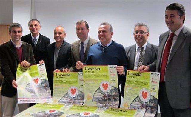 Imagen de la presentación de la campaña de recogida de juguetes