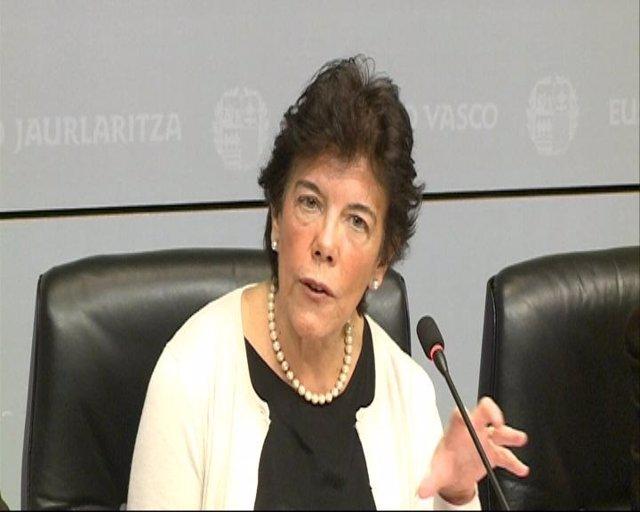 Isabel Celaá, consejera vasca de Educación