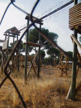 Imagen de archivo del Parque De Aventuras Los Talleres Del Pinar