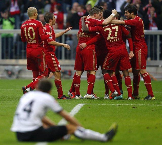 El Bayern Tumba Al Eintracht