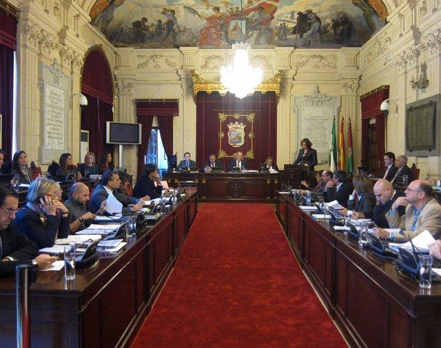 Pleno del Ayuntamiento de Málaga
