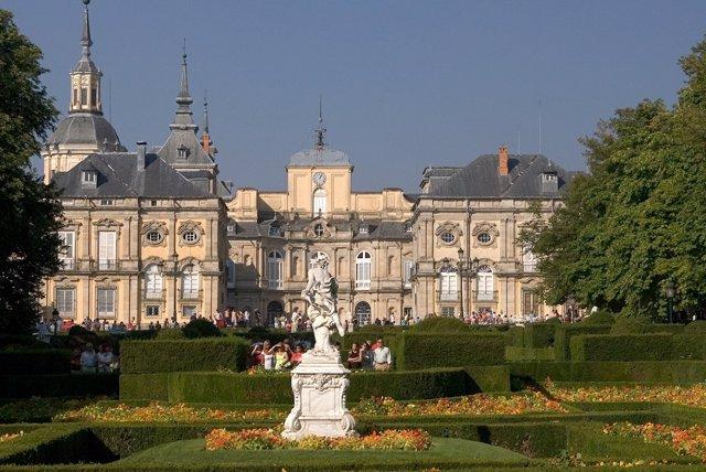 Los jardines del Palacio Real de La Granja