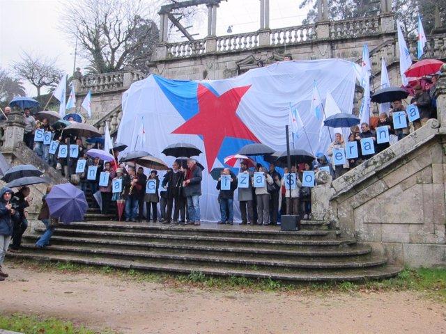 El BNG reivindica más soberanismo en la Alameda de Santiago