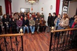 Vecinos de Tembleque encerrados en Ayuntamiento