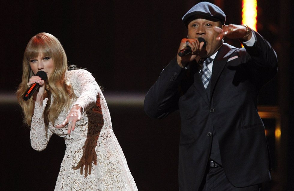 Taylor Swift y LL Cool J