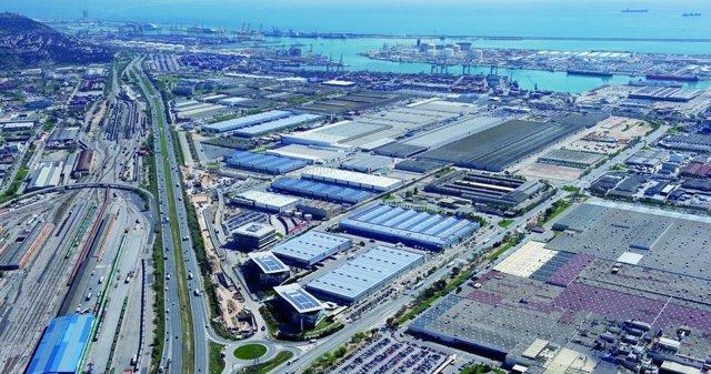 Polígono Industrial De La Zona Franca De Barcelona