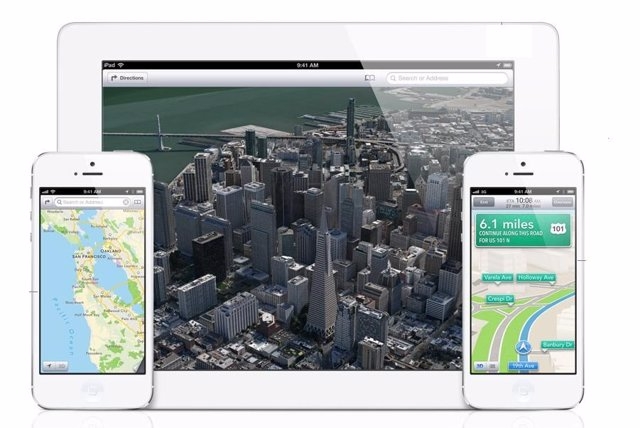 App Mapas de Apple