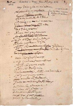 Códice de Lope de Vega