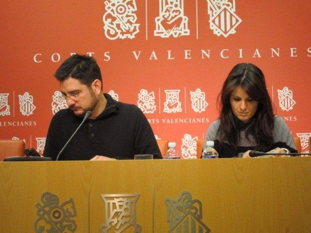 Blanco y López en rueda de prensa
