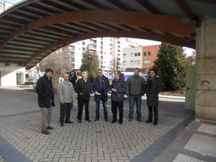 Logroño remodela la plaza Donantes de Sangre mejorando las condiciones de conservación del aparcamiento