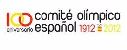 Logotipo del Centenario del COE