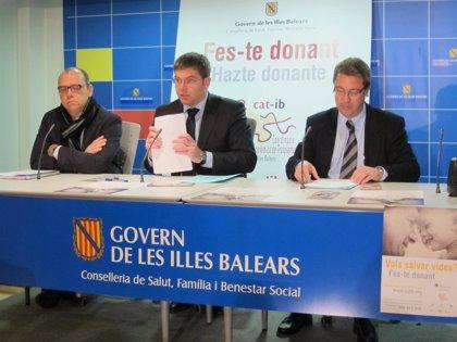 Baleares.- AV.- Un total de 41 donantes permiten la extracción de 125 órganos en el 2012 en Baleares