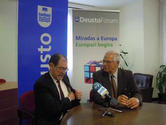 El expresidente del Parlamento Europeo, Josep Borrell