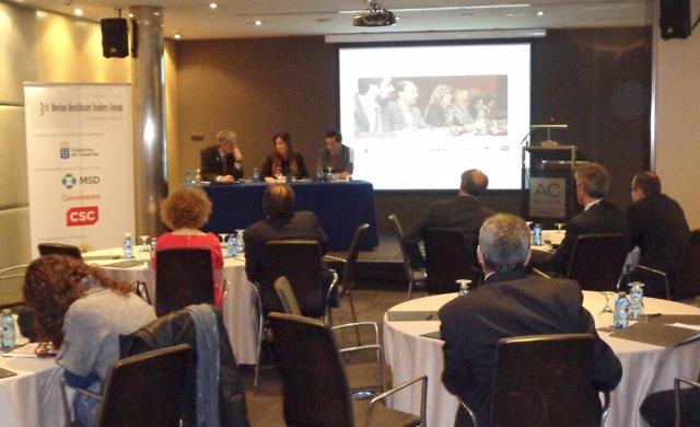 Brígida Mendoza presenta la III Cumbre Ibérica de Líderes de Salud
