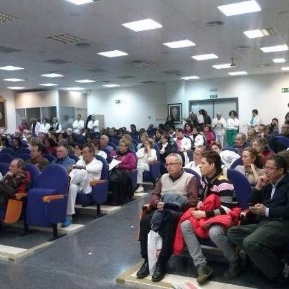 """Los trabajadores del H. General finalizan el encierro de 48 horas y celebran el apoyo """"masivo"""""""
