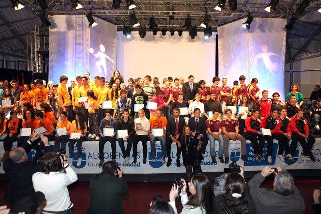 Premiados en la Gala del Deporte de Alcobendas