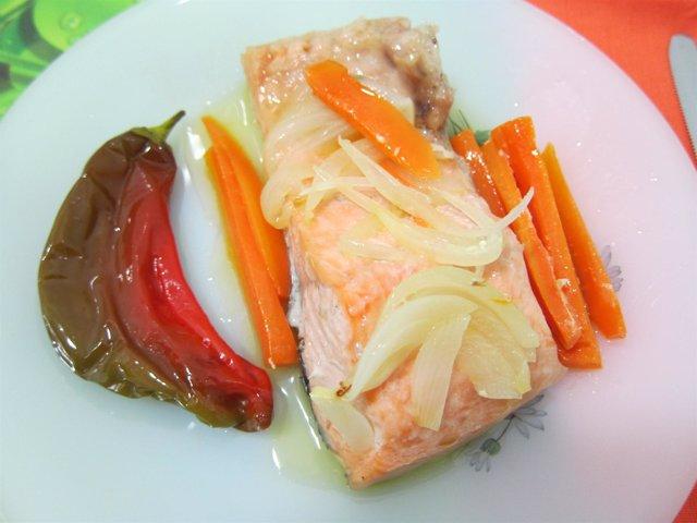 Salmón, Pescado, Dieta Mediterránea