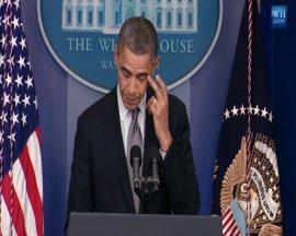 Obama emplaza a actuar para que no se repita la masacre de Connecticut