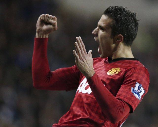 Robin Van Persie, del Manchester United