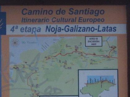 El Grupo Popular pide a la Xunta un plan de dinamización del Camino de Santiago que abarque hasta el año 2021