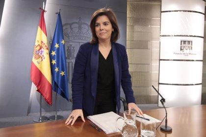 """El PSOE explicaciones a Sáenz de Santamaría ante el Pleno del Congreso por """"falta de independencia"""" en RTVE"""