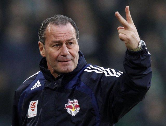 Huub Stevens, Entrenador Del Schalke