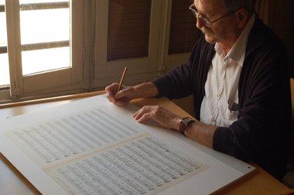 Al Tall edita una litografía con la partitura original de 'El Tio Canya'