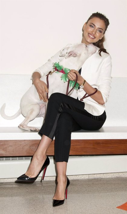 Irina Shayk, una belleza solidaria amante de los animales