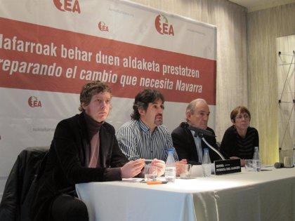 """Urizar (EA) pide a Urkullu que """"deje claro"""" si priorizará el acuerdo con el PSE y el PP"""