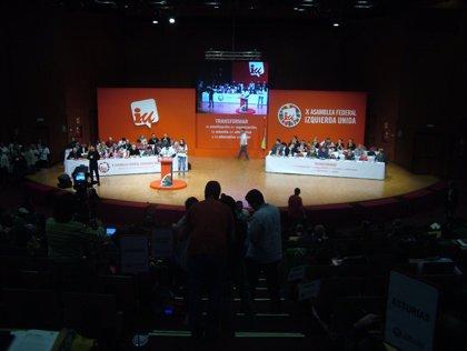 """Cayo Lara dice que IU manda un """"mensaje de esperanza"""" con su candidatura unitaria para avanzar hacia un """"proyecto mayor"""""""