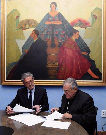 La Diputación colaborará con el Obispado en la restauración de seis tallas góticas del Museo Diocesano