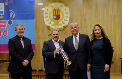 La Diputación concluye el reparto de 858 instrumentos musicales por toda la provincia