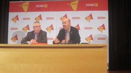 """Gallego asegura que CC.OO. sale de su congreso reforzada para """"imponer"""" diálogo social"""