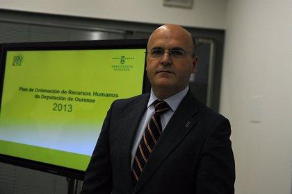 """Baltar dice que el ERE fue """"la última opción"""" para garantizar los servicios de la Diputación ante """"la merma de ingresos"""""""