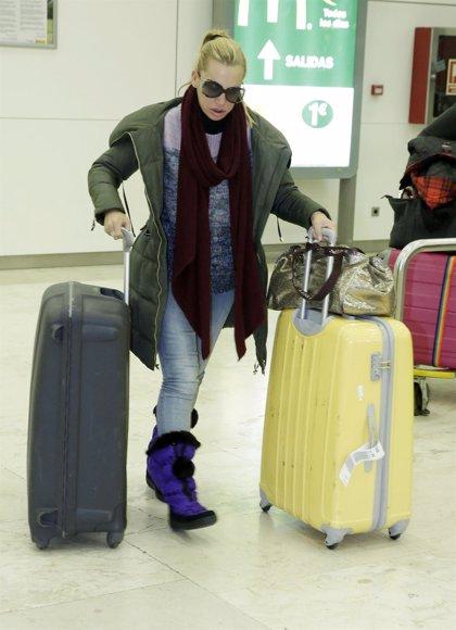 Belén Esteban regresa a España tras su viaje por Estados Unidos