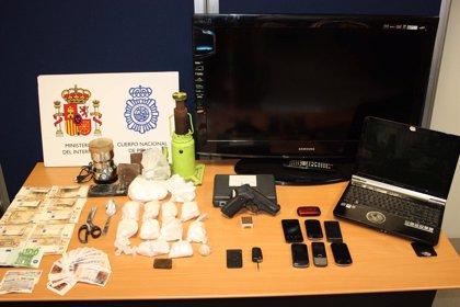 Cuatro detenidos en Valladolid tras intervenirles un kilo de cocaína y 400 gramos de sustancia de corte