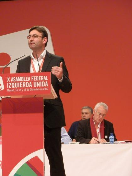 """IU C-LM celebra la elección de Cayo Lara para su segundo mandato """"por una mayoría amplia y plural"""""""