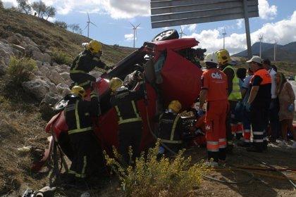 Fallecen siete personas en las carreteras andaluzas durante el fin de semana