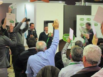 Bascuas, elegido por unanimidad secretario xeral de CxG, sitúa los comicios europeos de 2014 como primer reto