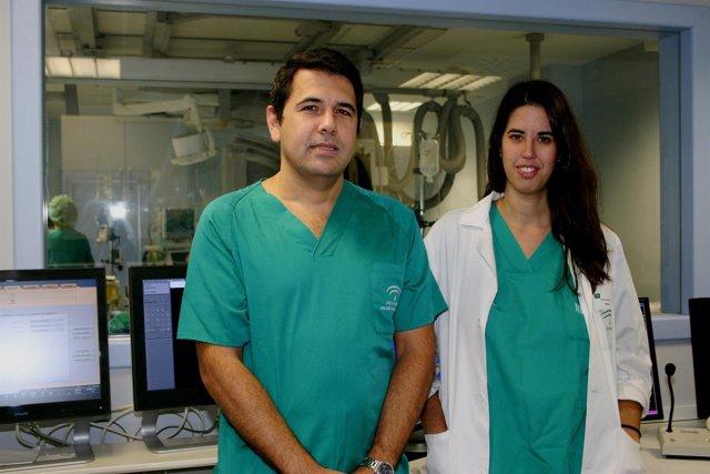 Ernesto Díaz-Infante y Rocío Cózar