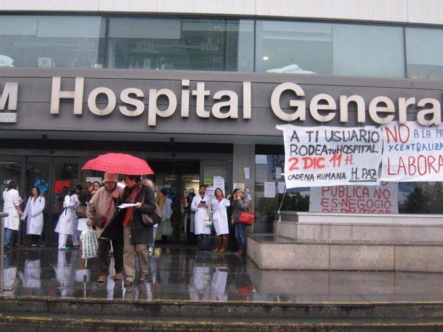 Huelga en la sanidad madrileña