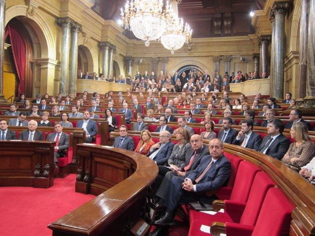 El Parlament, en el pleno de constitución de la cámara