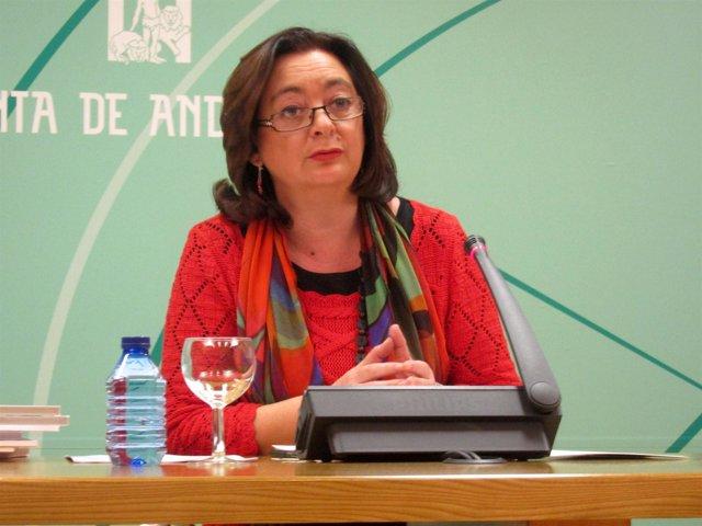 La consejera de Educación de la Junta, Mar Moreno