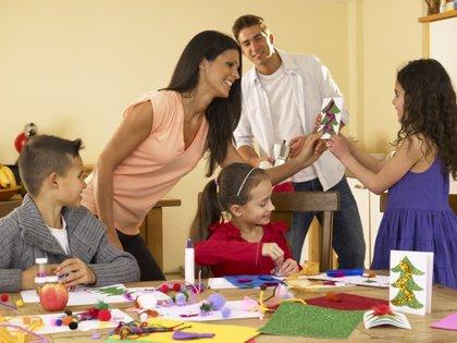 Planes caseros para hacer con niños estas Navidades