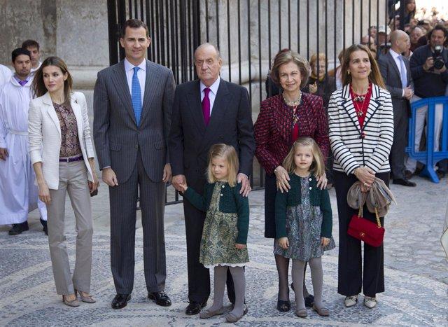 Familia Real Española En Mallorca