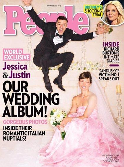 Justin Timberlake y Jessica Biel, una de las mejores bodas del año 2012