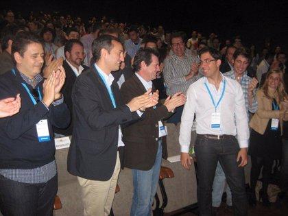 Luisma Pizana resulta elegido presidente de NNGG de la provincia con el 96% de los votos